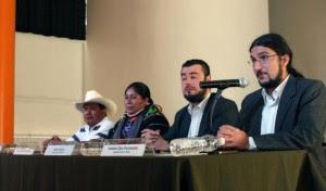 Aspectos de conferencia de prensa | Foto: Alina Vallejo