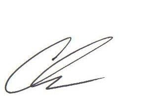 Chris Korsmo signature