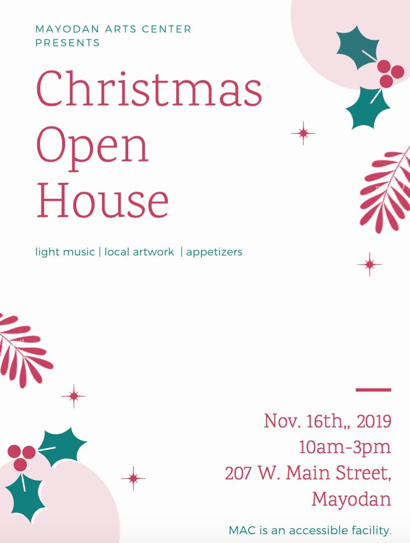 Mayodan Arts Center Christmas Open House