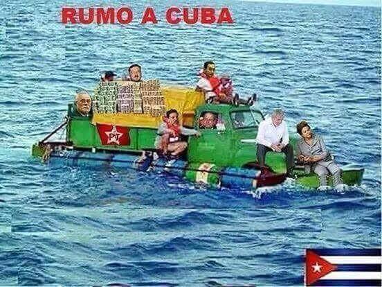 000 rumo à Cuba