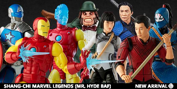 Shang-Chi Marvel Legends Wave 1