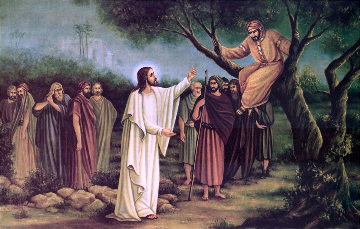 """Znalezione obrazy dla zapytania Dziś zbawienie stało się udziałem tego domu, gdyż i on jest synem Abrahama. Albowiem Syn Człowieczy przyszedł szukać i zbawić to, co zginęło""""."""