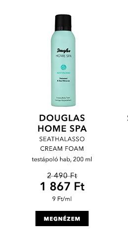 Májusi Douglas ajánlatok - Seathalasso Cream Foam - testápoló hab