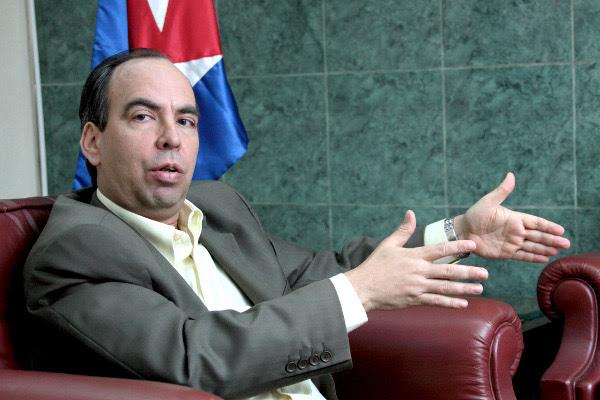 El embajador de Cuba en Venezuela, Rogelio Polanco
