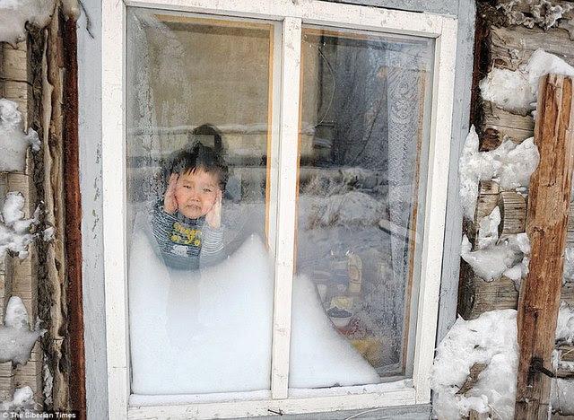 Những hình ảnh ấn tượng vá» ngôi làng lạnh nhất thế giá»i - 7