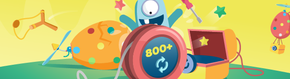 Easter Spins Hunt 800 Free Spins Runs from March 26th until April 2nd - view