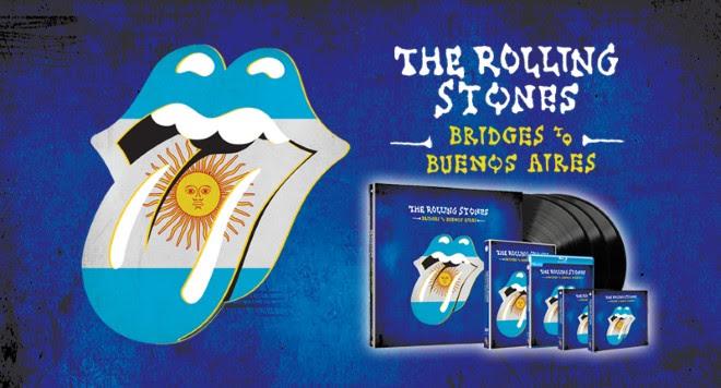 THE ROLLING STONES Bridges To Buenos Aires dans les bacs !