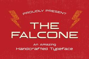 The Falcone Handcrafted Typeface
