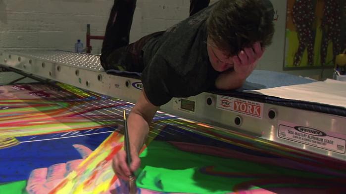 VIDEO. Un documentaire sur les peintures de Jim Carrey étonne la Toile