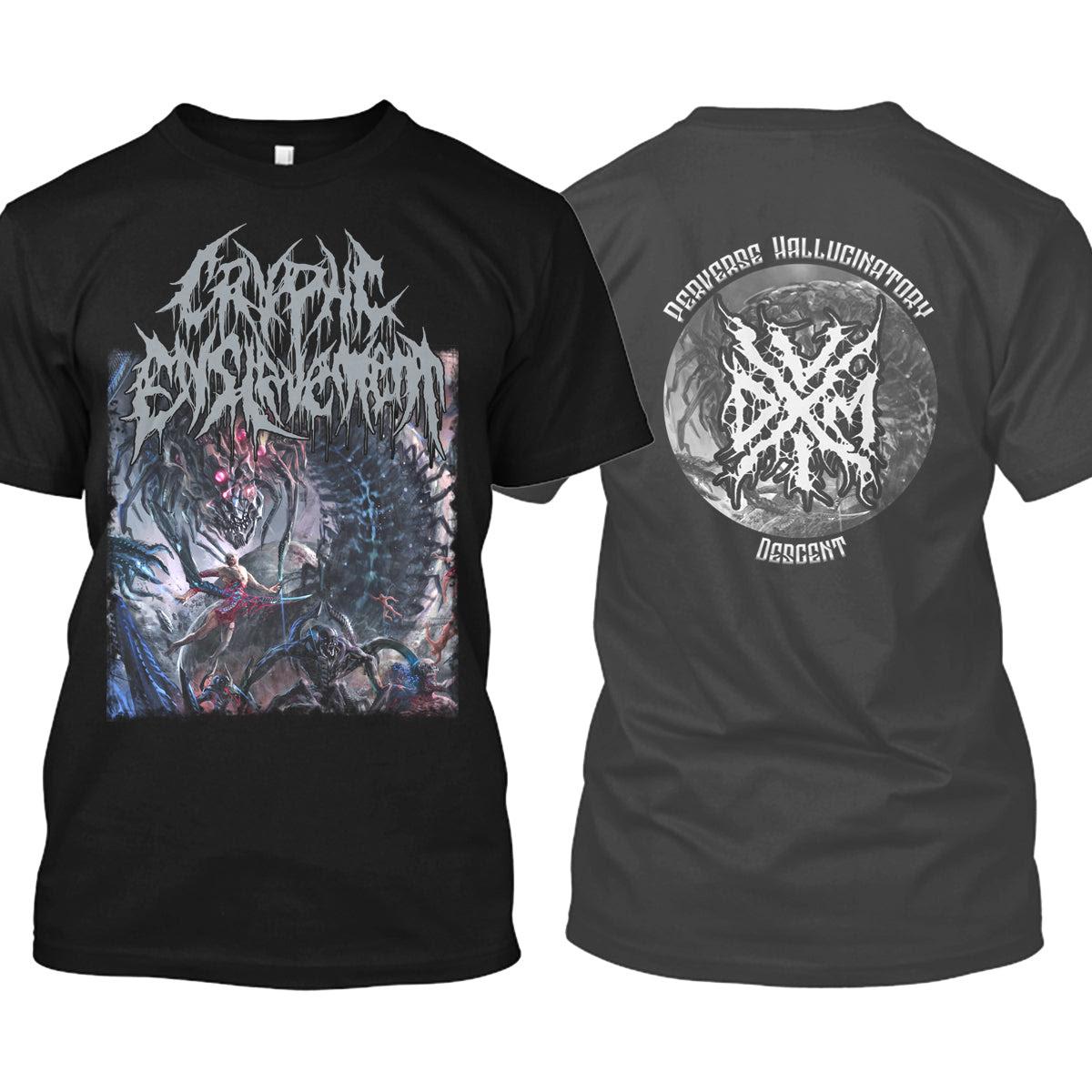 Cryptic Enslavement - Perverse Hallucinatory Descent (T-Shirt)