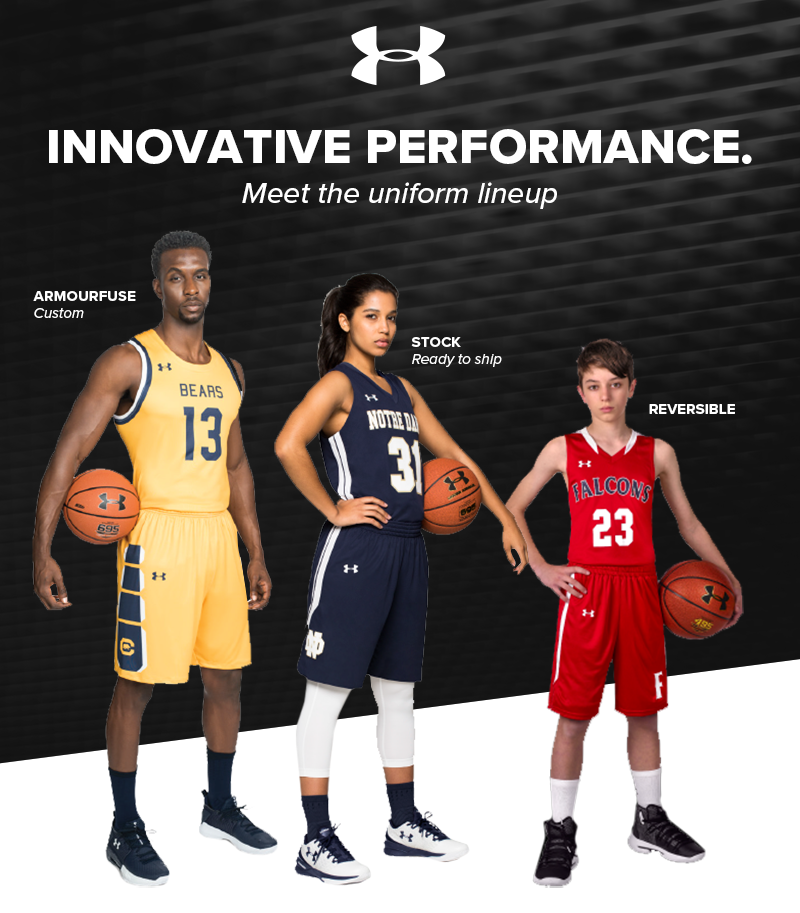 5236762f8 Order Your Team Set of Under Armour Basketball Jerseys at Kahunaverse  Sports - Basketball Manitoba