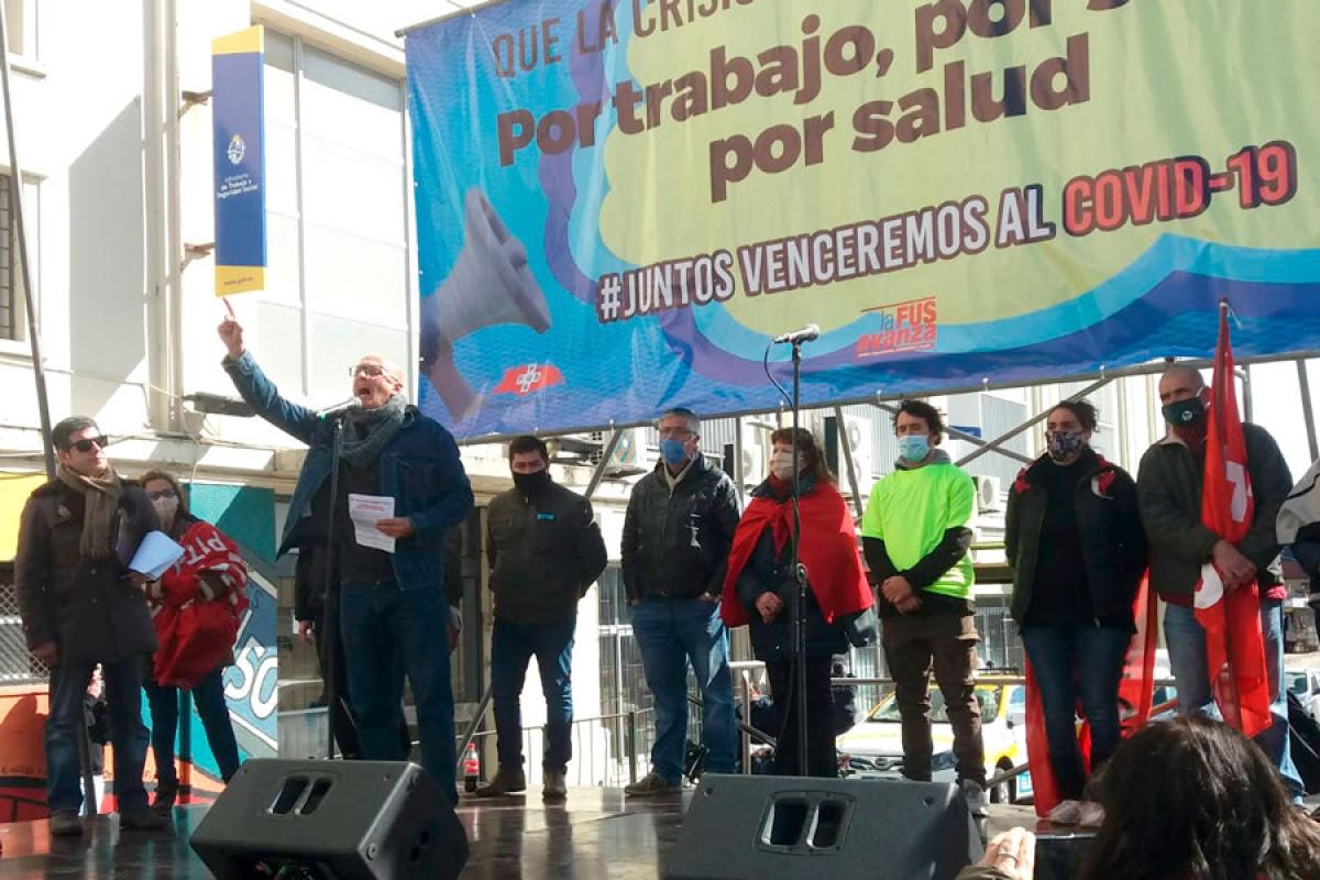 """Jorge Bermúdez (FUS): """"Negociaremos mejor cuanta más movilización haya"""""""