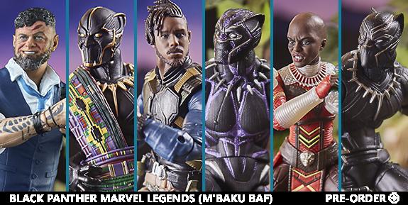 Black Panther Marvel Legends (M'Baku BAF)