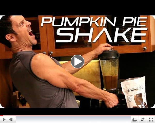 Pumpkin Pie Smoothie Recipe | Vegan Chocolate Protein Shake | Tony Horton Fitness