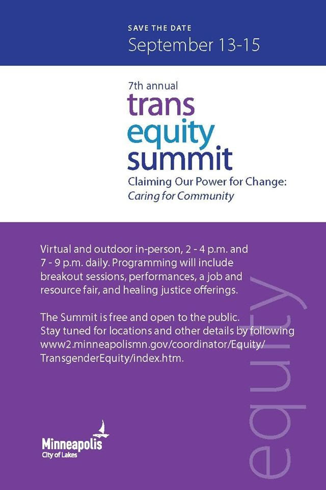 Trans equity Summit Save the Date