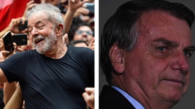 Lula lidera pesquisa para 2022 com mais de 20 pontos à frente de Bolsonaro, mostra Ipec