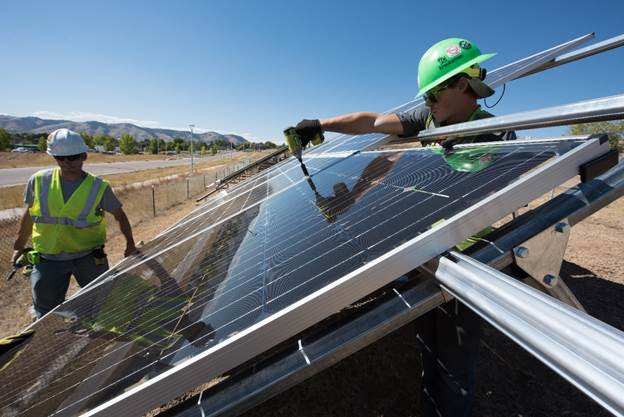 solar energy employment united states