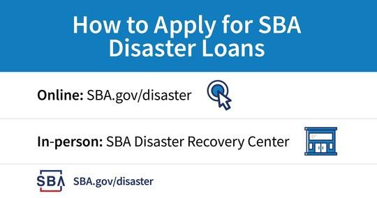 Disaster Loans Apply