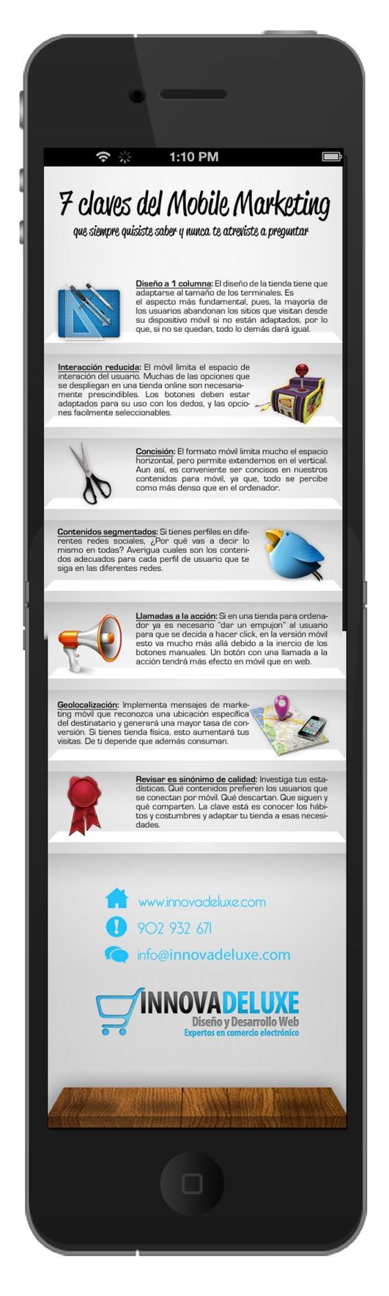 7 claves del marketing móvil