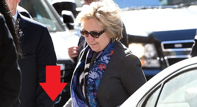 Hillary Steps Out Of Limo… Then People IMMEDIATELY Notice What's In Her Hand
