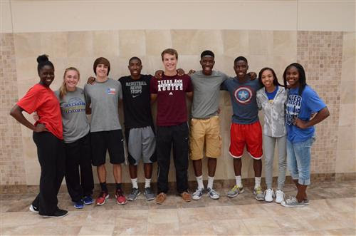 State Track Athletes