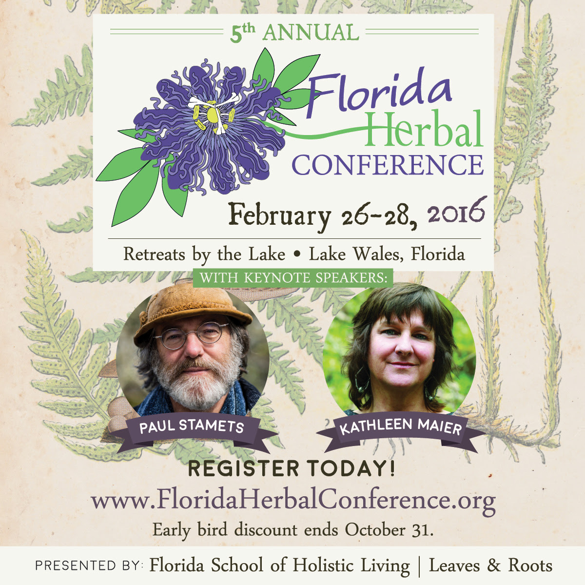 Florida Herbal Conference - win a free ticket!
