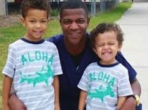 Alfred Wright and his two sons