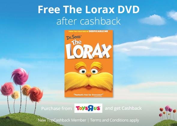 FREE Lorax DVD