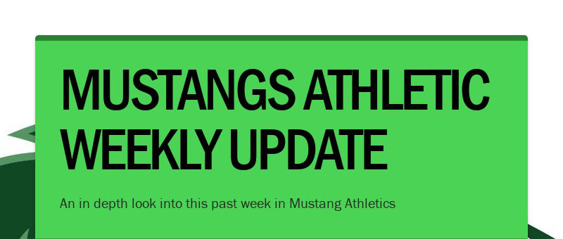 MUSTANGS ATHLETIC WEEKLY UPDATE An in depth look into this past week in Mustang Athletics