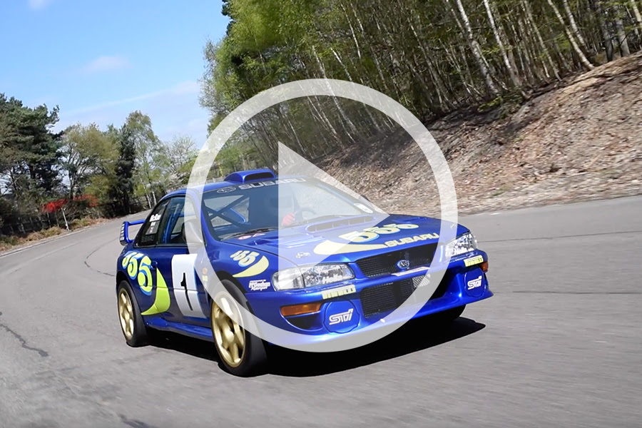 FEATURED: 1996 Subaru Impreza WRC97 [Chassis 001]
