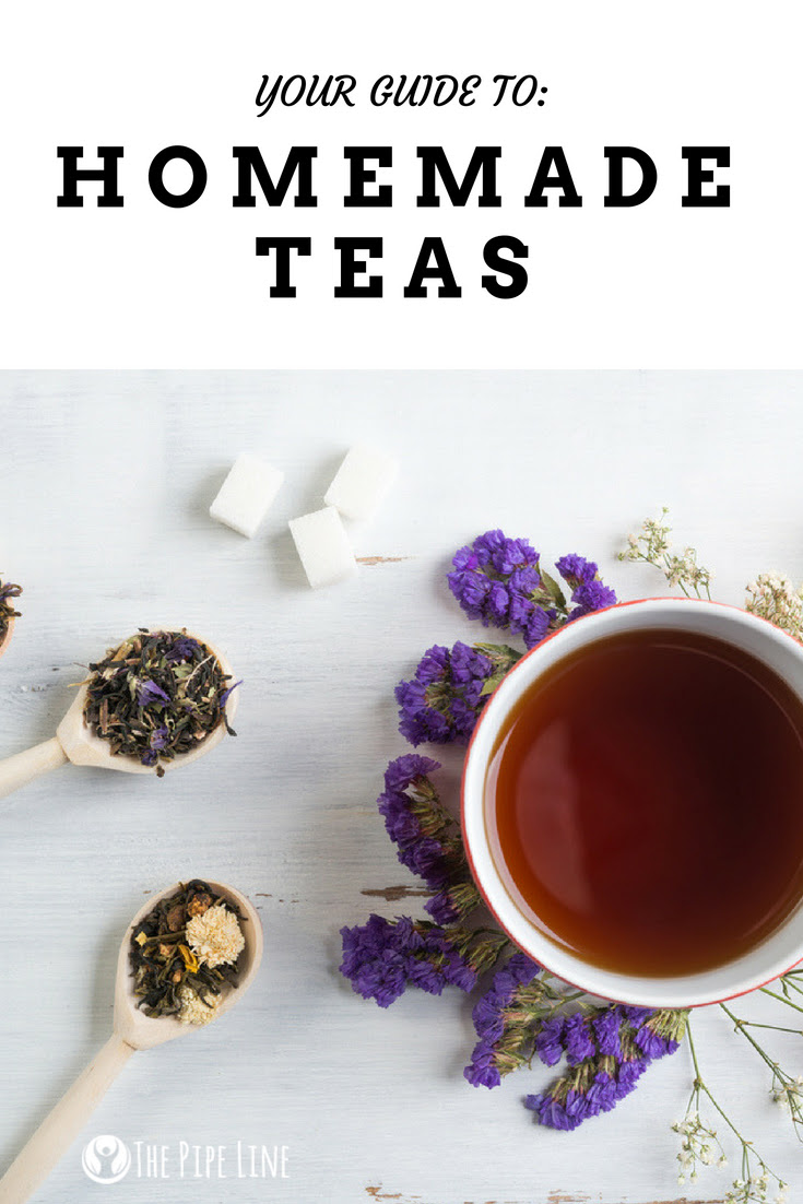 4 Homemade Teas