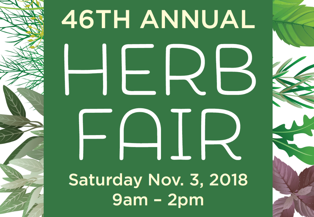 46th Annual Herb Fair @ Judson Robinson Community Center | Houston | Texas | United States