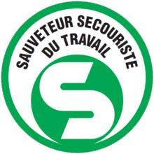 Logo SST sauveteur secouriste du travail