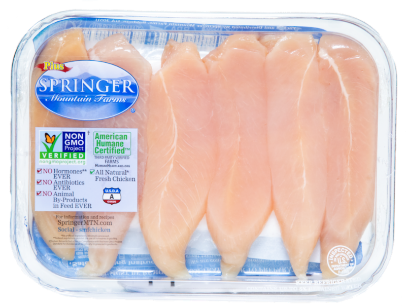 Springer chicken package