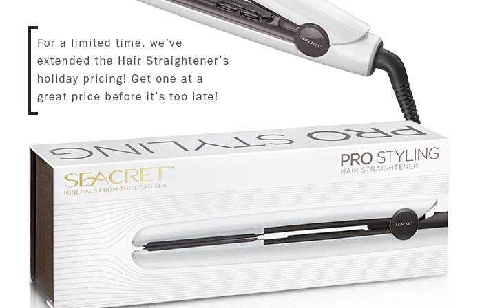 The Pro Styling Hair Straightener is this month's Featured Product!