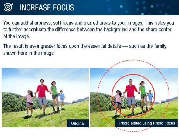 InPixio Photo Focus focus