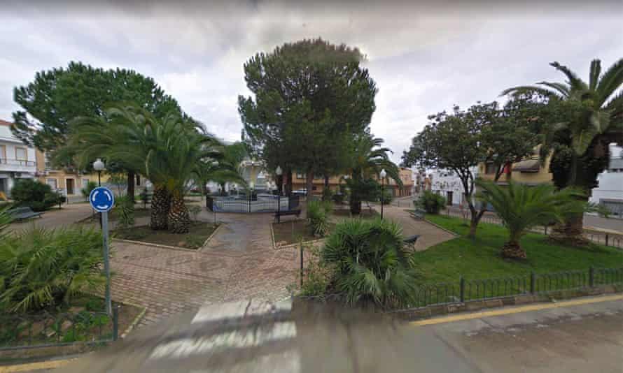 Google maps street view in Calamonte