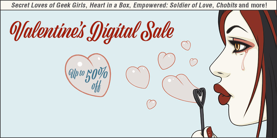 Valentine's Digital Sale
