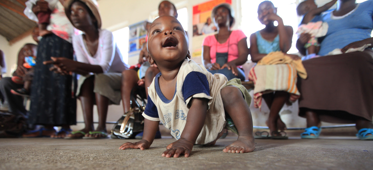 Photo contest winner:The rapid scaleup of Prevention of Mother to Child Transmission (PMTCT) services in Zimbabwe has produced significant results. Babies like Takunda, born to HIV positive mothers, are free of the virus.