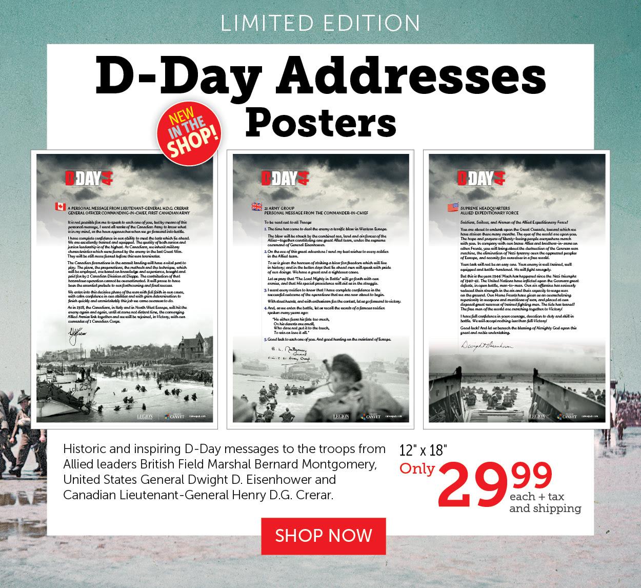 D-Day Addresses