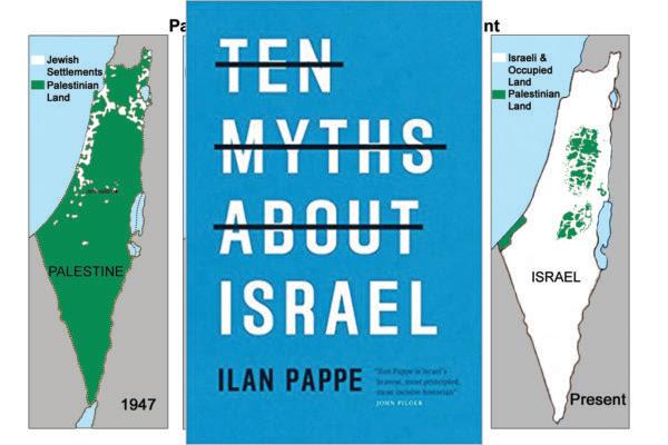 Revue du dernier livre de l'historien israélien Ilan Pappé « Ten Myths about Israel »