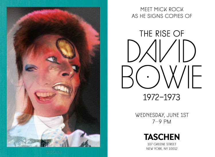 Meet Mick Rock at TASCHEN Store New York