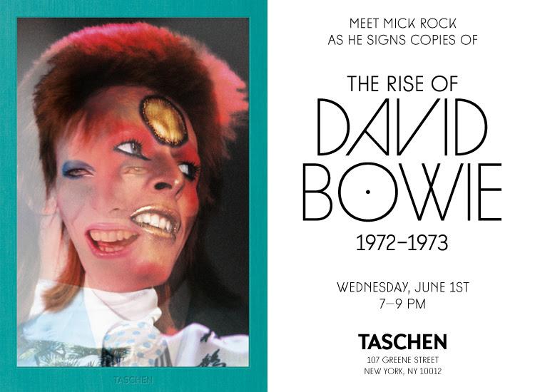 Meet Mick Rock at TASCHEN Store New York