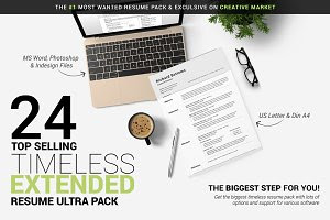 Timeless Resume Ultra Extended Pack