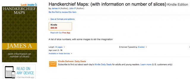 John Podesta and James Alefantis Release a 2nd Ebook - Handkerchief Maps With Money Codes and Pictures of Children