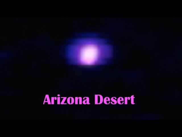 Strange PURPLE light spotted hovering over Arizona Desert!  Sddefault
