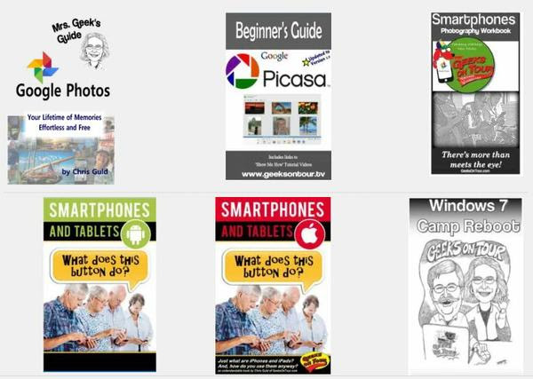 7 eBooks for Geeks on Tour members
