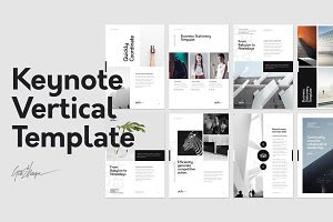 Keynote Template with GIFT (Resume)