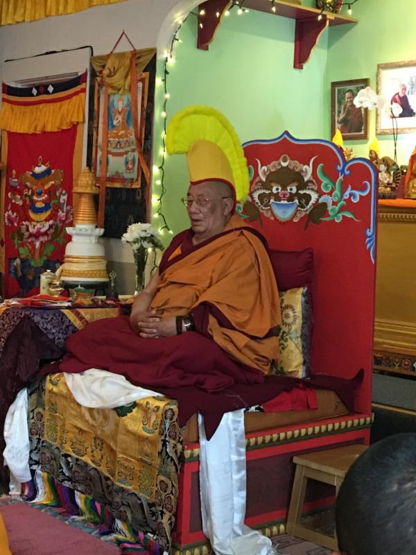 Long Life Puja for Geshe Dakpa @ Tse Chen Ling Center