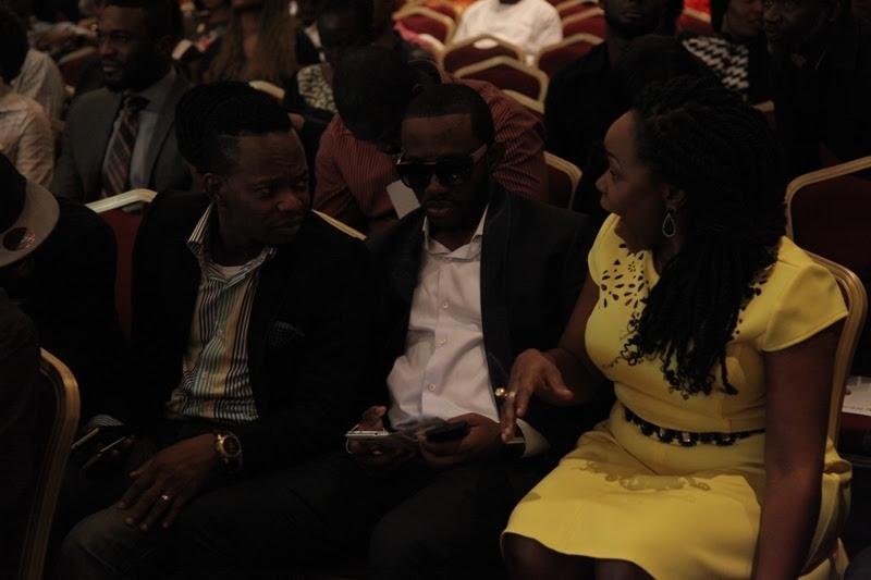 Koffi  J Martins and Omawumi